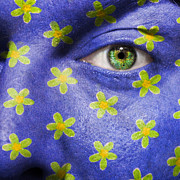 Make-up Prints - Flower Power Print by Semmick Photo
