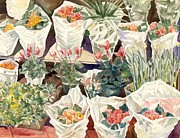 Alfred Ng - flower shop watercolor