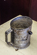 Mamma Metal Prints - Flower Sifter that Mamma Used Metal Print by Douglas Barnett
