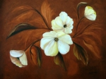 Flora Painting Prints - Flower Study Print by Carol Sweetwood