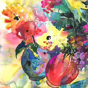 Still Life - Flower Symphony 03 by Miki De Goodaboom