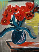 Mary Carol Williams - Flower with Red Shadow