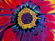 Vibrant Pastels Prints - Flowerburst Print by Rory  Sagner