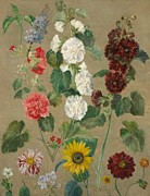 Colourful Flower Prints - Flowers Print by Ferdinand Victor Eugene Delacroix