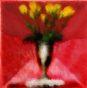 Yello Prints - Flowers for the Lady Print by Bill Cannon