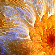 Sunflower Art - Flowers Glow by Lourry Legarde