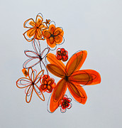 Flowers IIII Print by Patricia Awapara