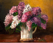 Michal Schwarz - Flowers in a vase