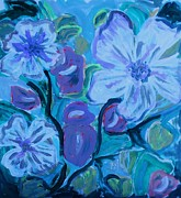Marie Bulger - Flowers in Blue