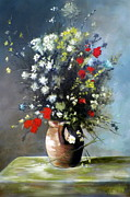 RB McGrath - Flowers in Vase after...