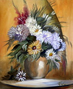RB McGrath - Flowers in Vase