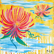 Furnishing Originals - Flowers in Water by Sarah Tiffany King