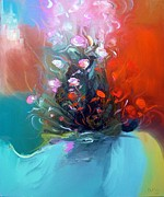 Flowers Of France Print by Hermes Delicio
