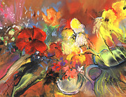 Still Life - Flowers of Joy by Miki De Goodaboom