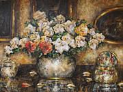 Flowers Of My Heart Print by Dariusz Orszulik
