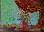 Annette Forlenza - Flowers on a Window Sill