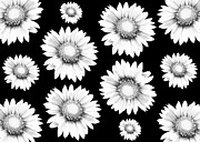 Flower Design Photo Originals - Flowers pattern by Tommy Hammarsten