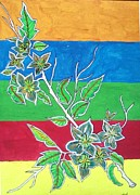 Gifts Drawings Originals - Flowers  by Swati Panchal