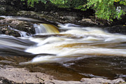 Jason Politte Prints - Flowing and Cascading at the Falls of Dochart - Killin Scotland Print by Jason Politte