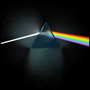Refracting Light Prints - Floyd in 3D Simulation Print by Meir Ezrachi