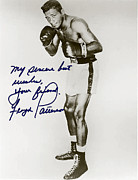 Boxer Digital Art Posters - Floyd Paterson Poster by Studio Artist