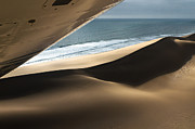 Juergen Klust Metal Prints - Fly over the Namib Metal Print by Juergen Klust