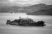 Alcatraz Art - Flyby Alcatraz Island by Agrofilms Photography
