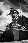 Flying Angel Photos - flying angel seafarers centre misson to sailors sailortown Belfast Northern Ireland UK by Joe Fox