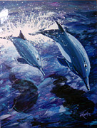 Jill Roberts - Flying Dolphins