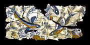 Fresco Posters - Flying Fish No. 3 Poster by Steve Bogdanoff