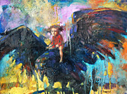 Flying In My Dreams Print by Michal Kwarciak