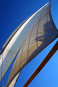 Sails Prints - Flying Jibs Print by ABeautifulSky  Photography