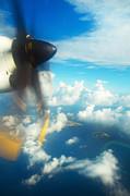 Jenny Rainbow - Flying over Maldivian Archipelago