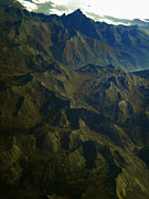 Colette Photos - Flying over the Alps in France by Colette V Hera  Guggenheim