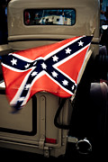 Confederate Flag Photo Posters - Flying the Flag Poster by Phil