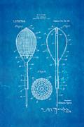 Flynn Merion Golf Club Wicker Baskets Patent Art 1916 Blueprint Print by Ian Monk