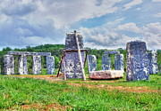 Virginia Ruins Photos - Foamhenge by Dan Stone