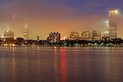 Juergen Roth - Fog and Moon over Boston