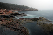 Mdi Framed Prints - Fog at Acadia National Park Framed Print by Juergen Roth