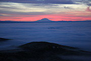 Yakima Valley Photo Prints - Fog in the Valley Print by Carol Groenen