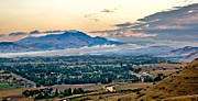 Refreshing Posters - Fog Over Emmett Valley Poster by Robert Bales