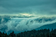 Natural Focal Point Photography - Fog Rolling Over the...