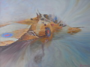 Harrier Paintings - Fog Thrust and Noise by Pib