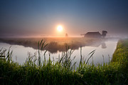 Early Morning Sun Photos - Foggy breathing by Olha Rohulya