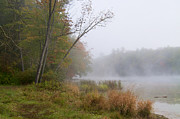 Kathy Rinker - Foggy Fall Morning at...