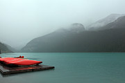 Nick Jene - Foggy Lake Louise In...