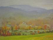 Foggy Morning Print by Len Stomski