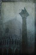 Piazza San Marco Posters - Foggy Morning Poster by Marion Galt