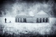 Lagoon Digital Art Prints - Fogy Morning - 2 Print by Okan YILMAZ