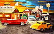Larry Lamb - Folk art Rt 66